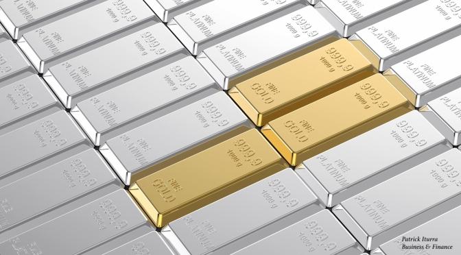 """""""El oro está subiendo (o bajando)"""""""